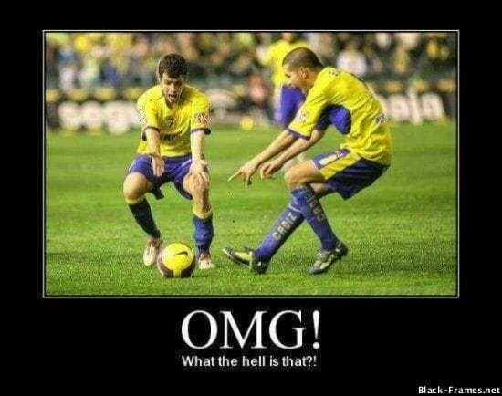 OMG football soccer meme