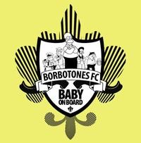 Partidito.com Borbotones F.C. Football team Logo